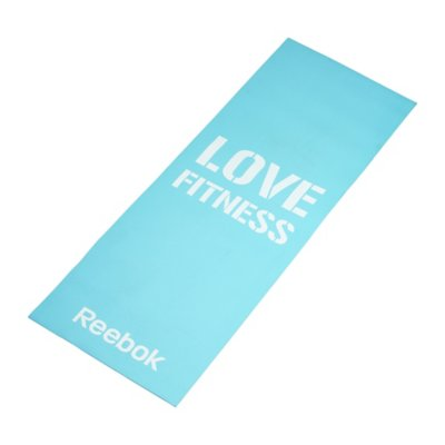 tapis de gym tapis de fitness bleu pastel reebok intersport. Black Bedroom Furniture Sets. Home Design Ideas