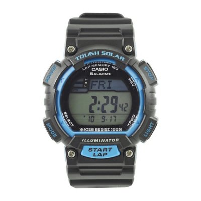 montre digitale stl s100h 2 running casio intersport. Black Bedroom Furniture Sets. Home Design Ideas