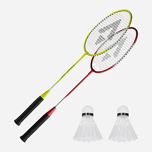 4720924fe9643 Set De Badminton 2 Joueurs Speed 200 JAUNE TECNO PRO | INTERSPORT