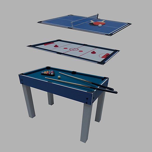 Table Multi Jeux 4 En 1 Noname Intersport
