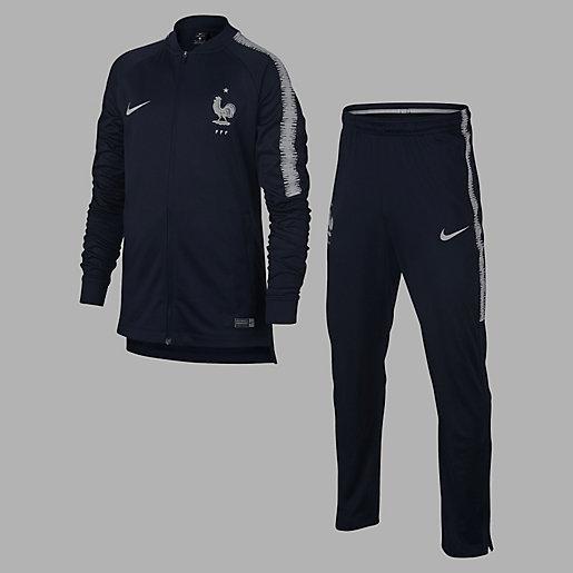 good service vast selection get cheap Ensemble survêtement d'entraînement football enfant Equipe de France 2018  NIKE