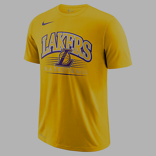 T shirt manches courtes homme Los Angeles Lakers Dri FIT NIKE