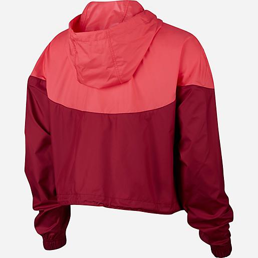 Veste coupe vent femme Sportswear Heritage Windbreaker NIKE