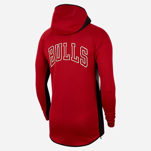Sweat zippé capuche homme Chicago Bulls Therma Flex Showtime NIKE