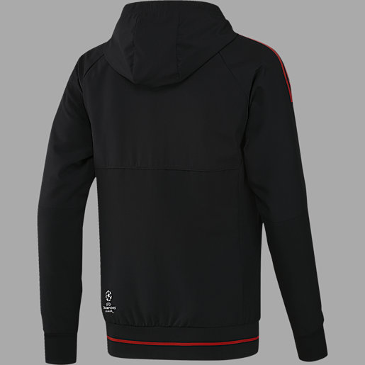 adidas manchester united fc pre veste homme